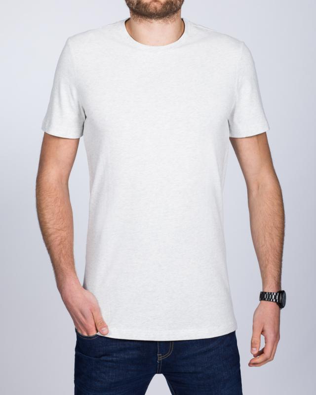 2t Tall T-Shirt (white marl)