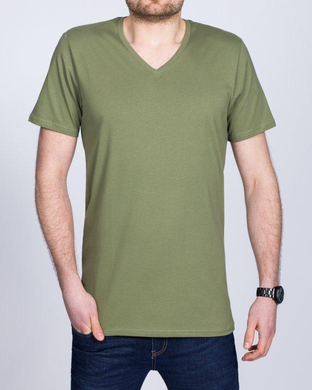 Girav New York Extra Tall V-Neck (olive green)