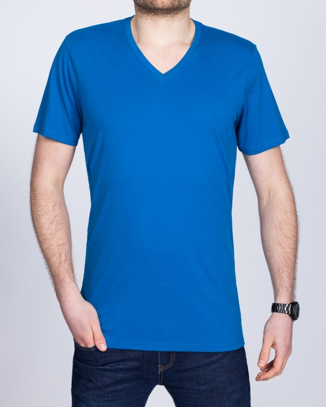Girav New York Tall V-Neck (royal blue)