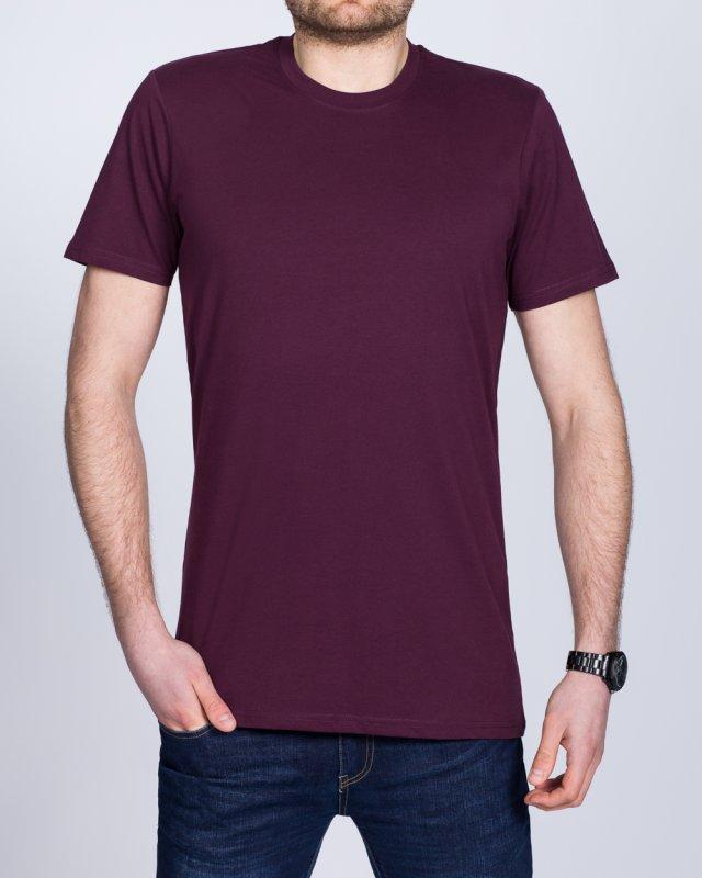 Girav Sydney Tall T-Shirt (bordeaux)