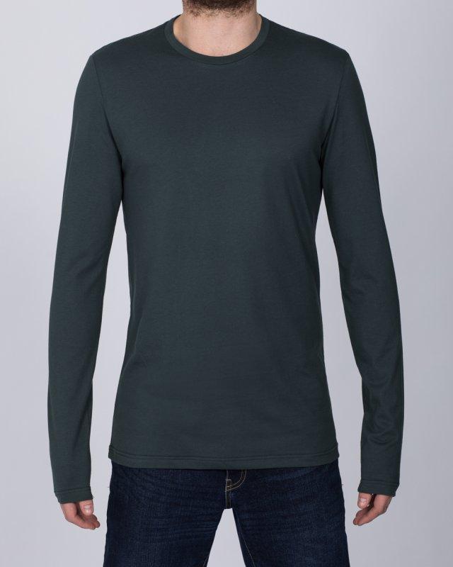 2t Tall Long Sleeve T-Shirt (army)