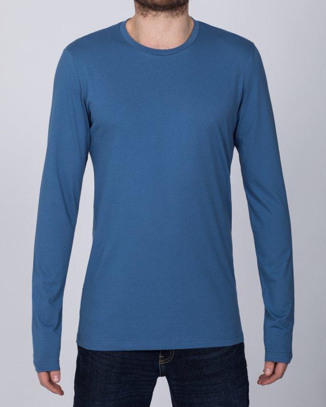 2t Tall Long Sleeve T-Shirt (denim)
