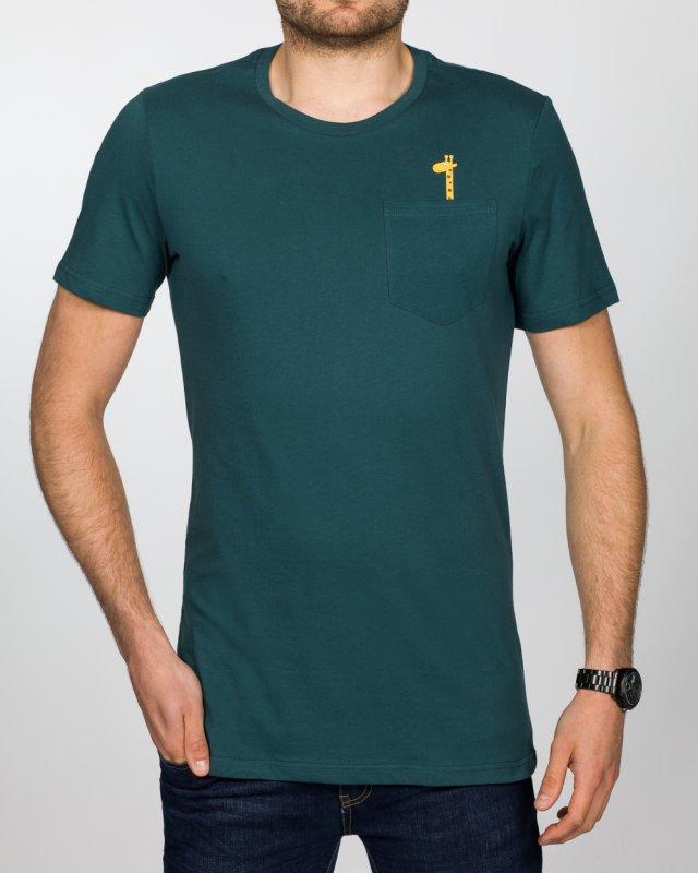 2t Tall T-Shirt (giraffe pocket)