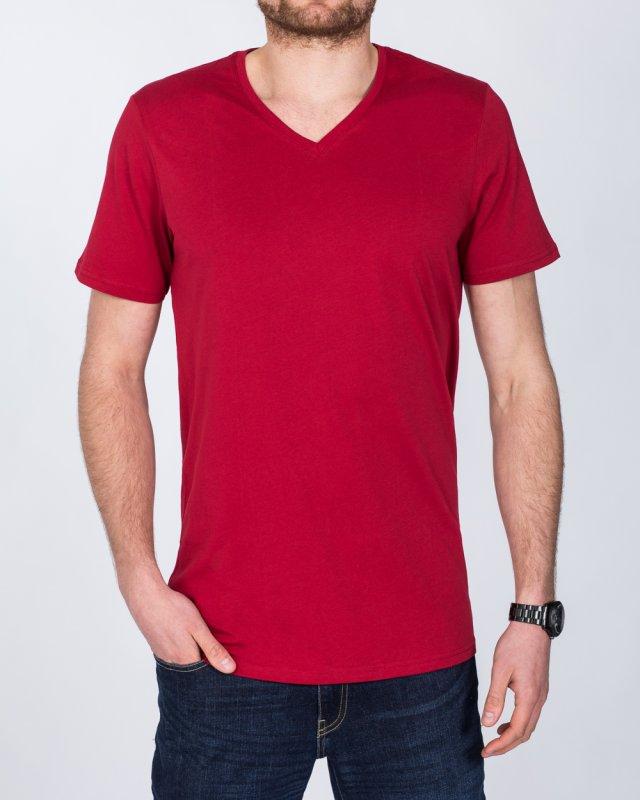 Girav New York Tall V-Neck (red)