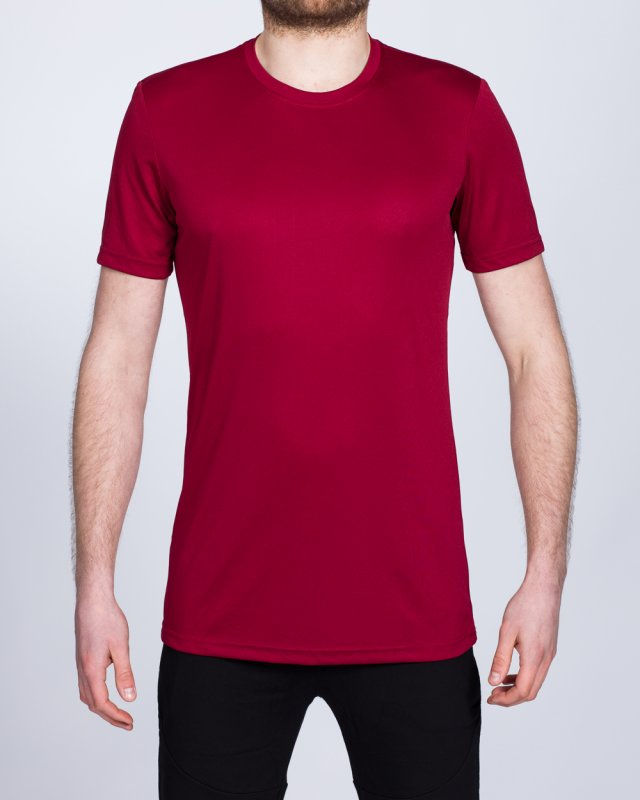 2t Dry Tech Training Top (deep red)