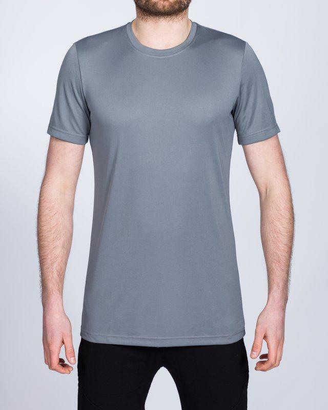 2t Dry Tech Training Top (mid grey)