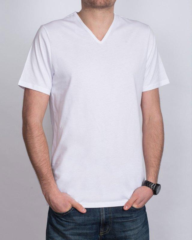 Girav Tall V-Neck (white) Twin Pack