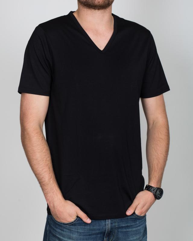Girav New York Extra Tall V-Neck (black) Twin Pack