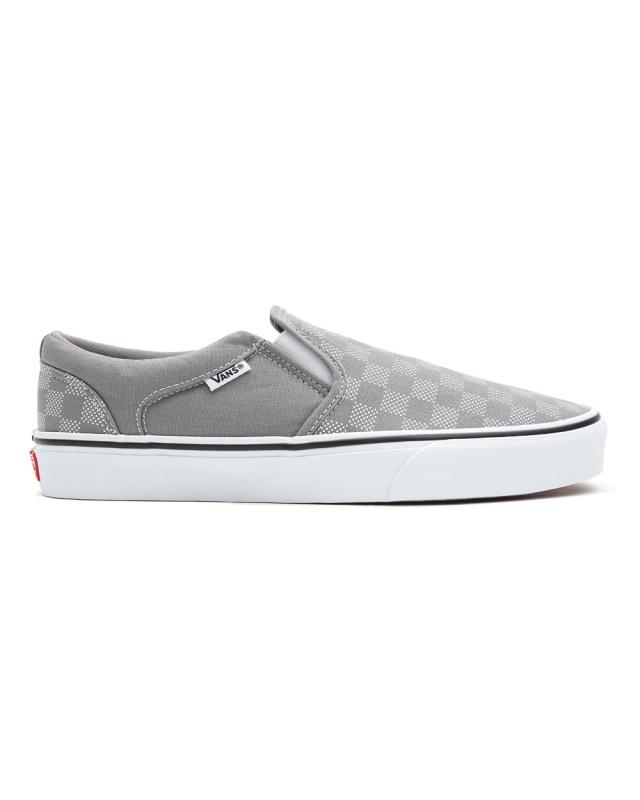Vans Asher Checker Dot (frost gray/white)