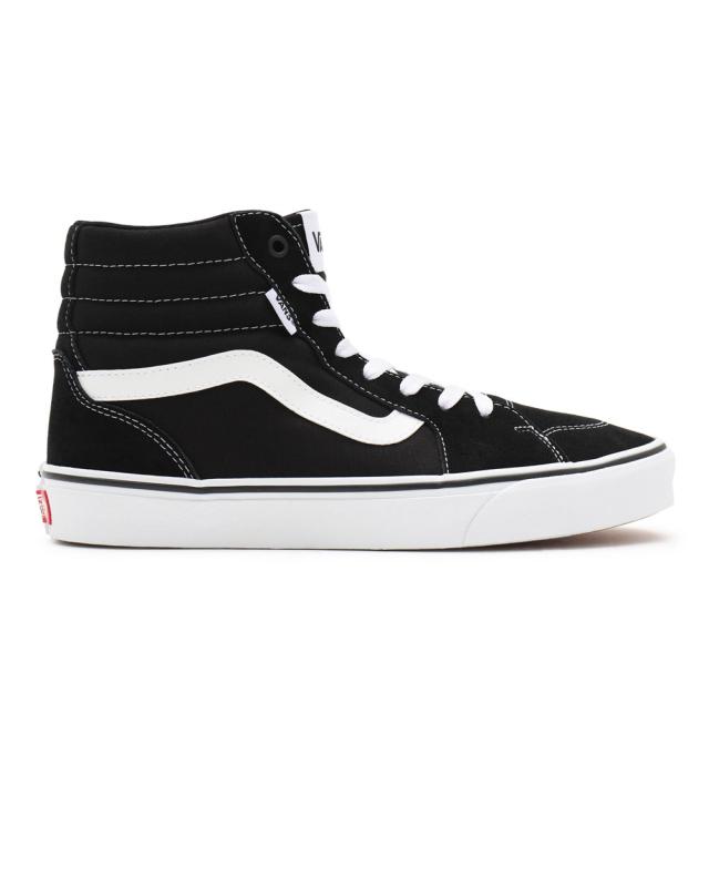 Vans Suede/Canvas Filmore Hi (black/white)