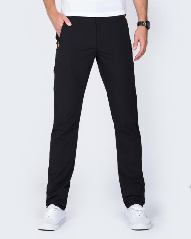 2t Slim Fit Walking Trousers (black)