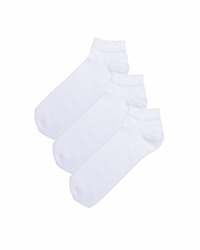 2t Ankle Socks 3 Pairs (white)