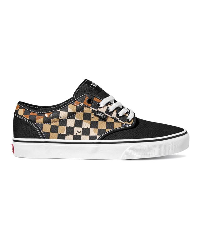 Vans Atwood Camo Check (black/white)