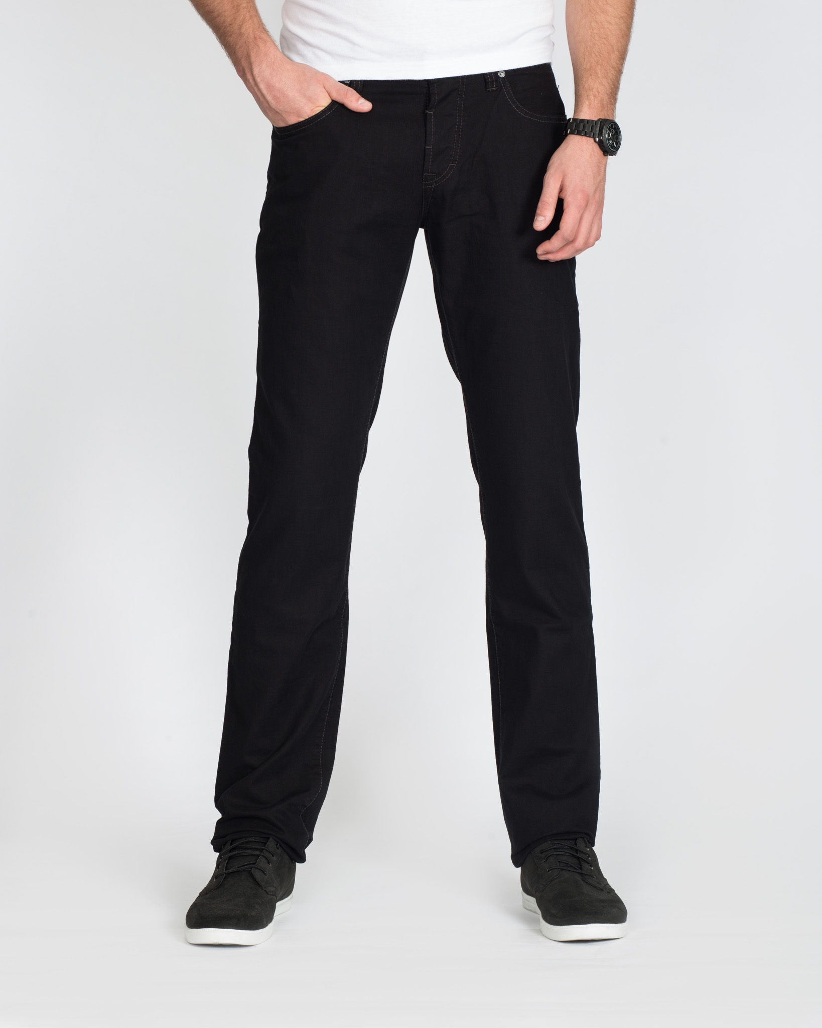 Camel Active Woodstock Black Stretch Tall Jeans