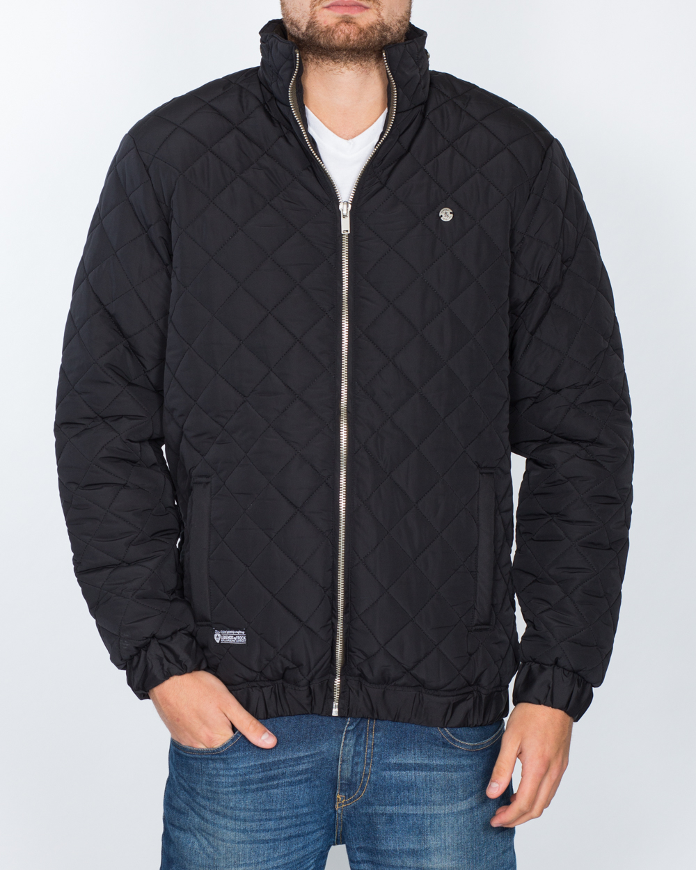 Replica Tall Quilted Jacket (black)