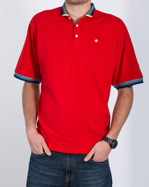 Mish Mash Warden Polo Shirt (red)