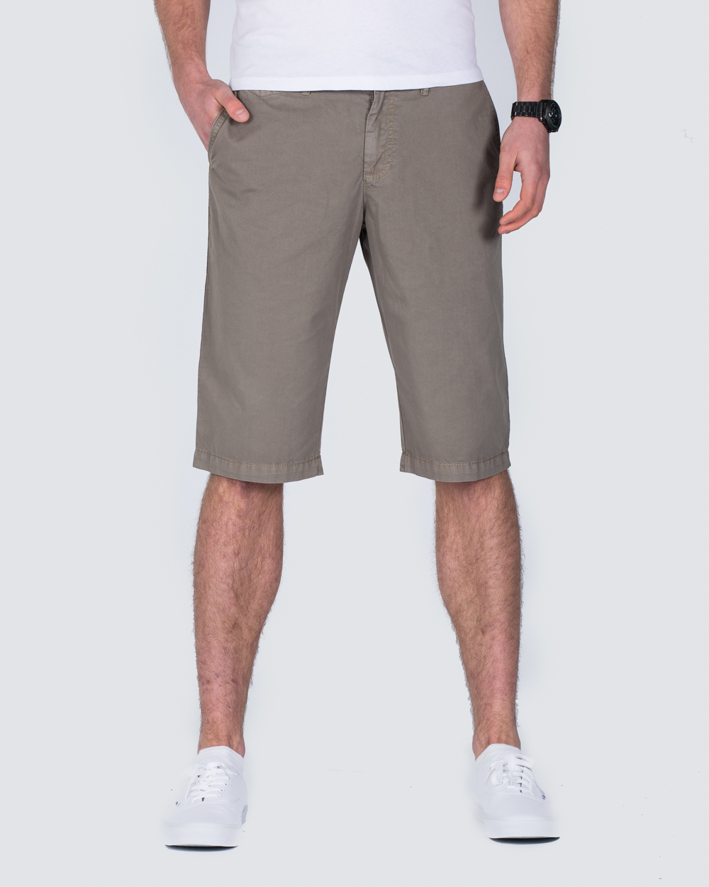 Redpoint Tailored Chino Shorts (taupe)