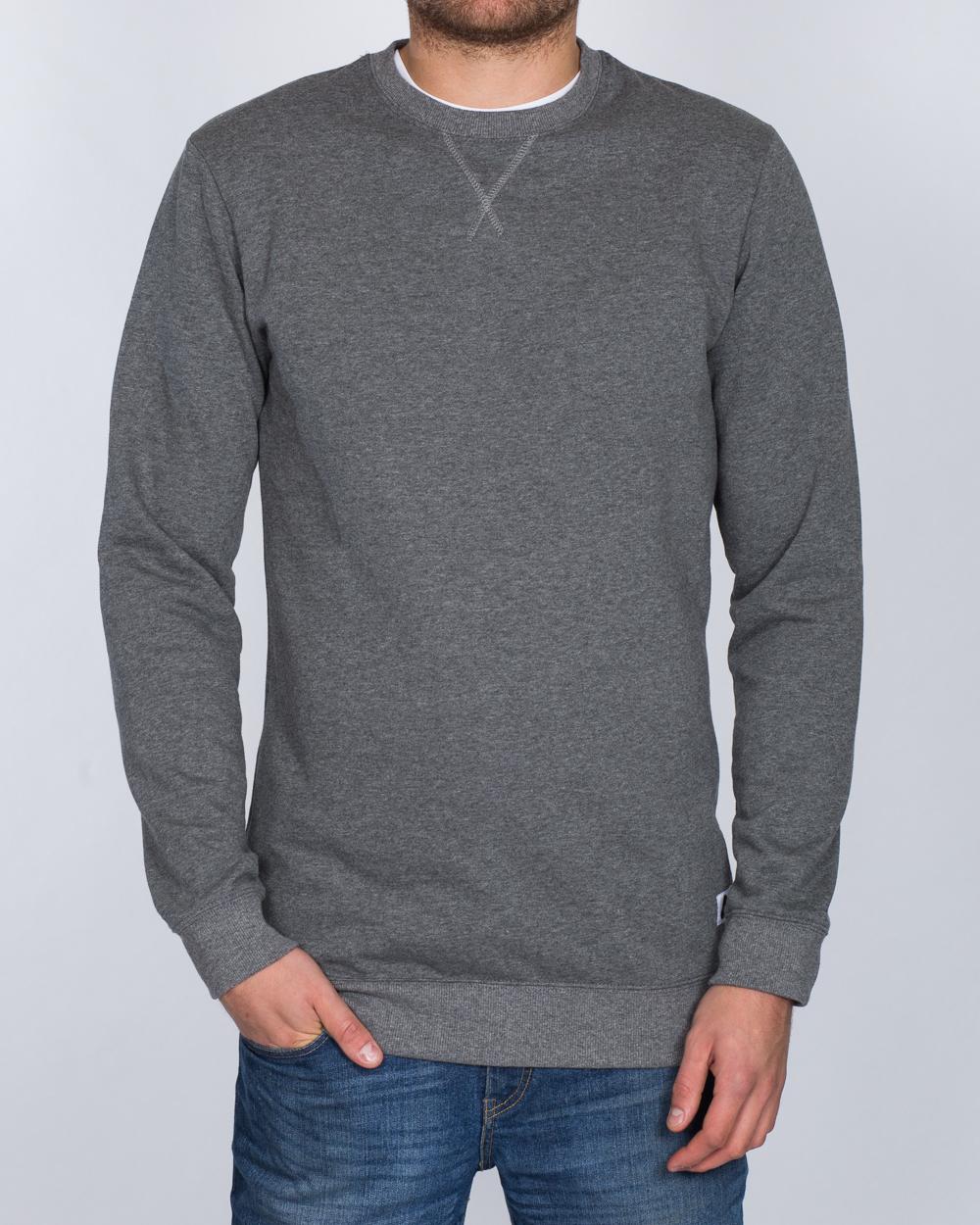 2t Slim Fit Tall Sweatshirt (charcoal)