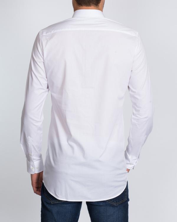Eterna Slim Fit Tall Shirt (plain white)