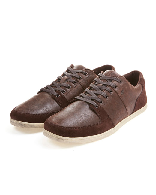 Boxfresh Spencer Leather/Suede (chocolate brown)