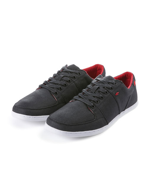 Boxfresh Spencer Waxy Canvas (black/red)