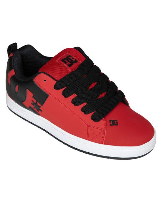 DC Court Graffik Shoe (red)