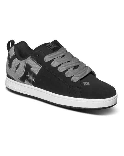 DC Shoe Court Graffik S M (black/gun metal)