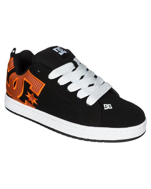 DC Shoe Court Graffik Shoe (orange)