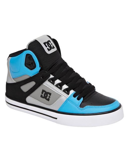 DC Shoe Spartan High WC (grey/blue)