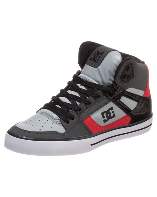 DC Shoe Spartan High WC (black/athletic red/white)