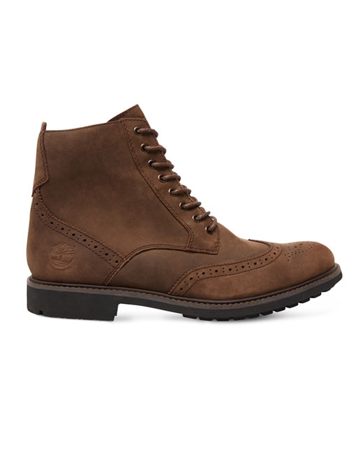 Timberland Stormbuck 6-Inch Brogue Boot (brown)