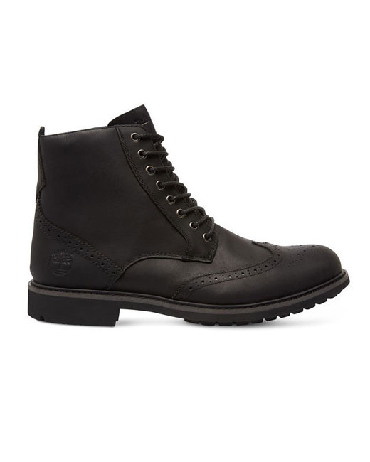 Timberland Stormbuck 6-Inch Brogue Boot (black)