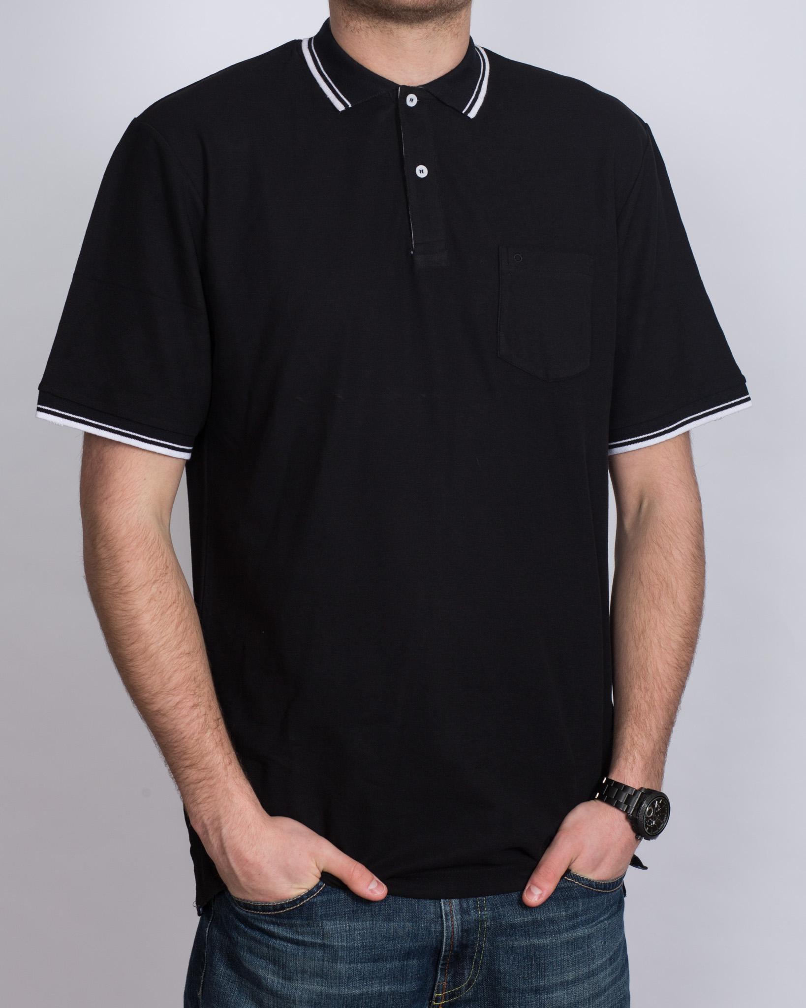 North 56 Tall Polo Shirt (black)