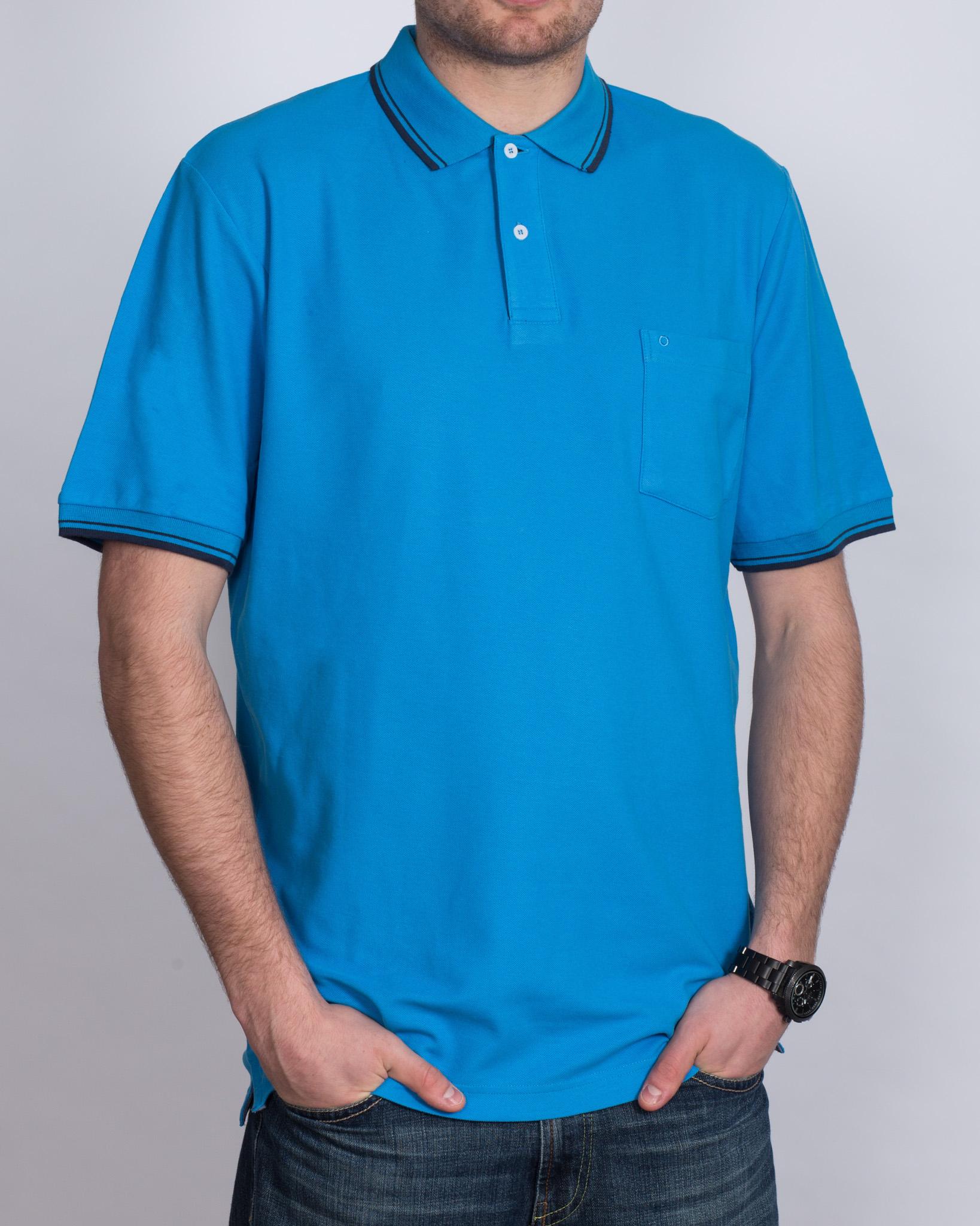 North 56 Tall Polo Shirt (blue)