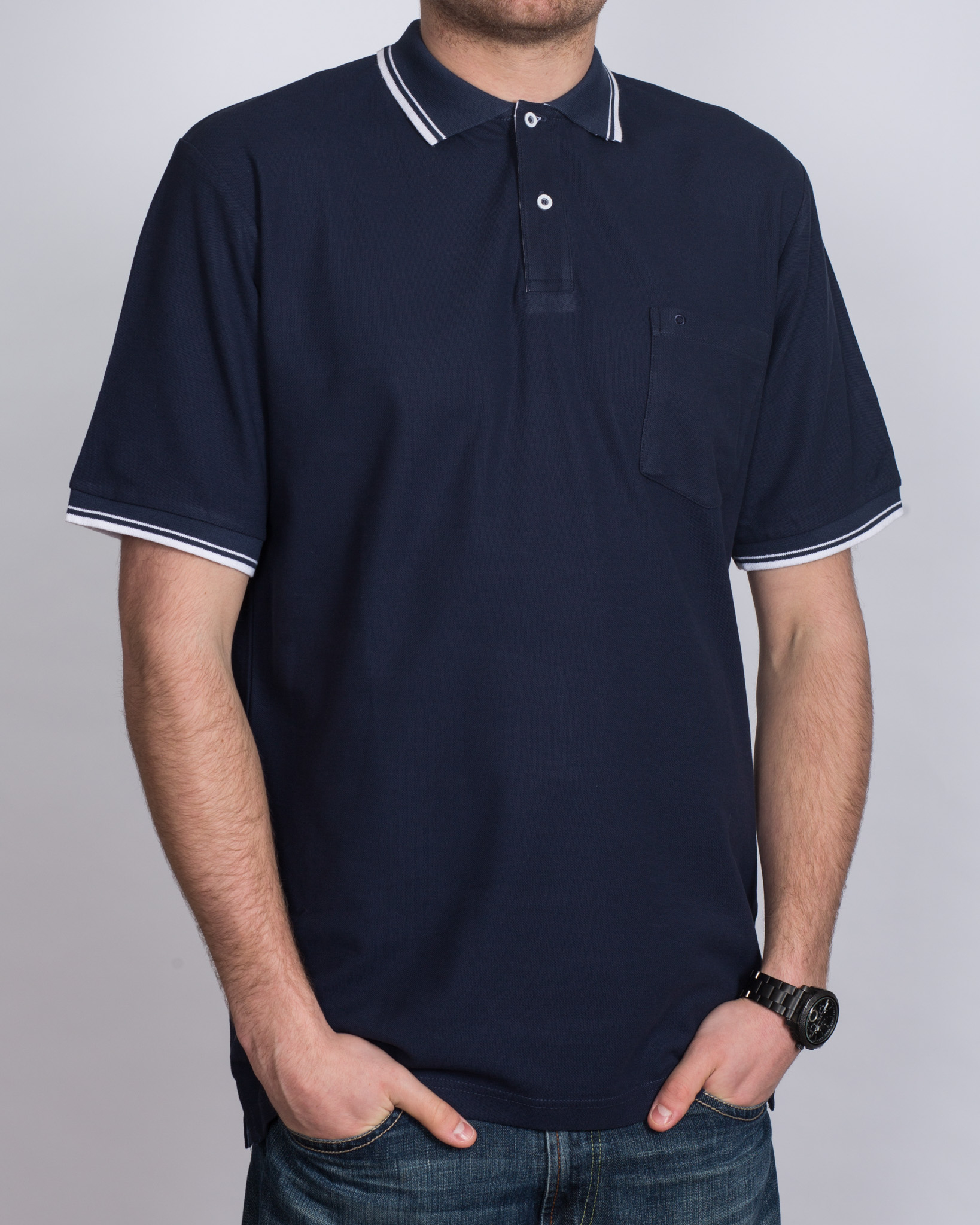 North 56 Tall Polo Shirt (navy)