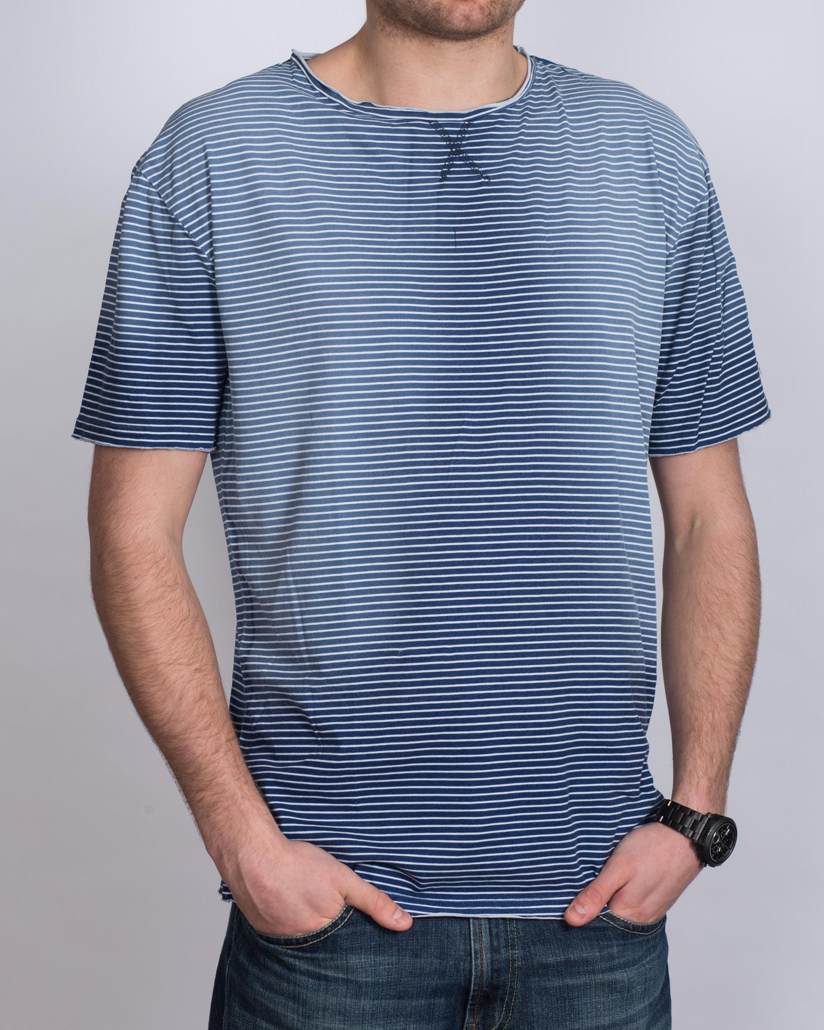 Replica Tall Striped T-Shirt (blue)