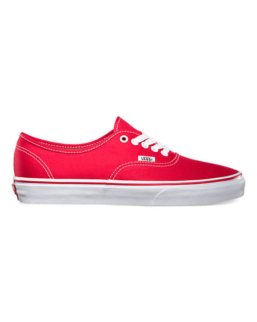 Vans Authentic Lace Up (red)