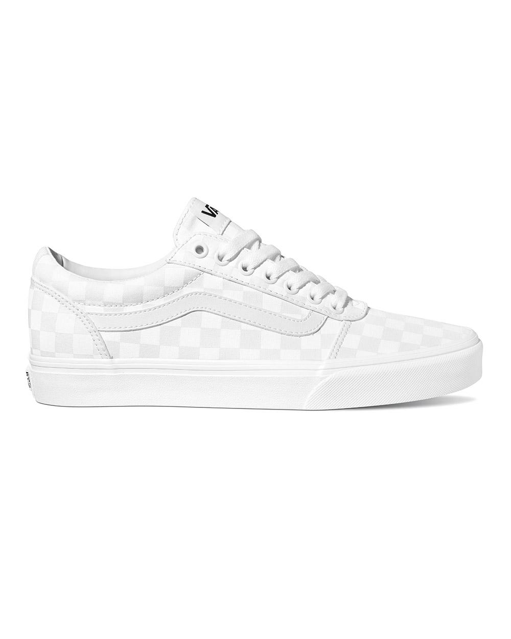 Vans Ward Checkerboard (white/white