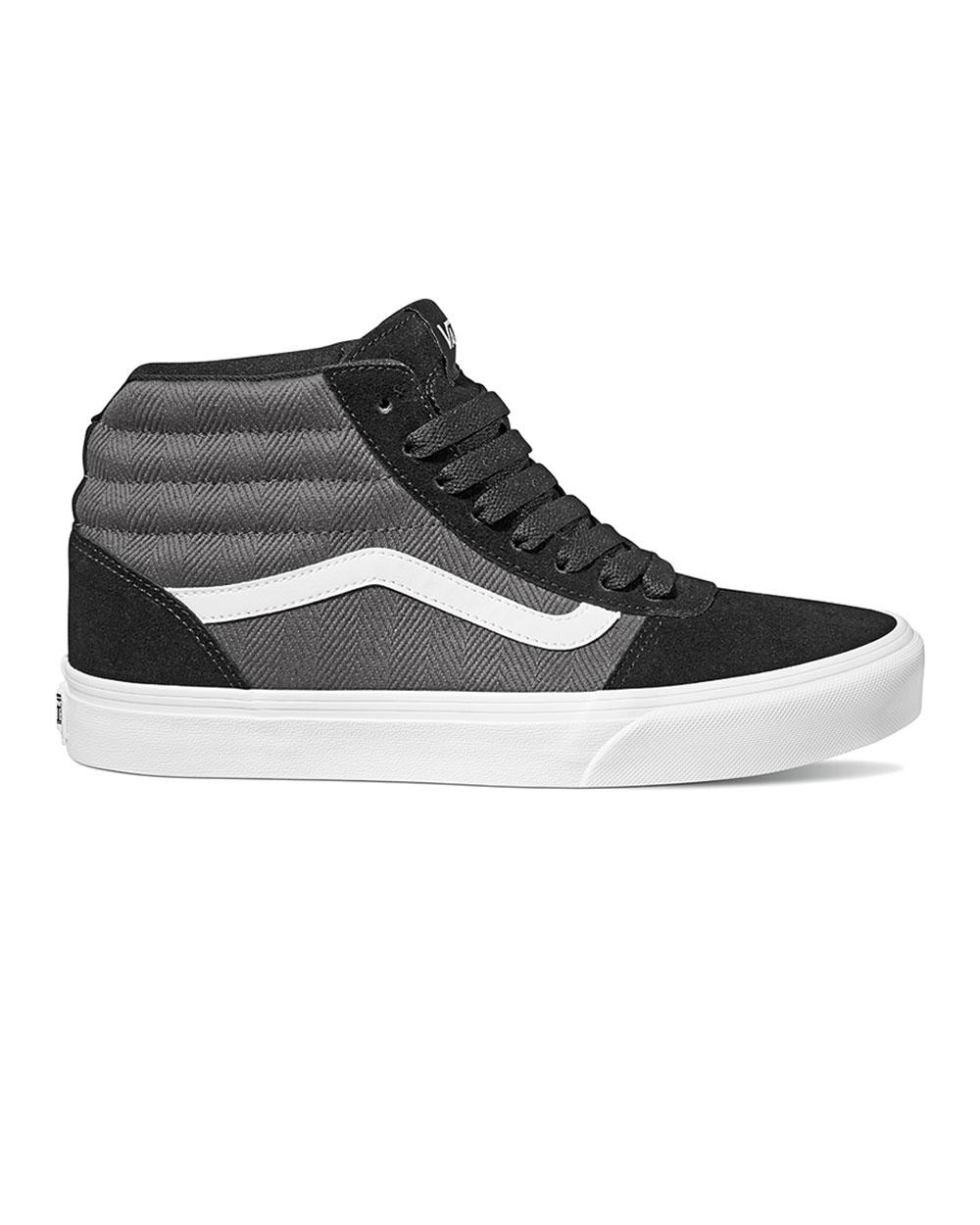 Vans Ward Hi Herringbone (black/grey
