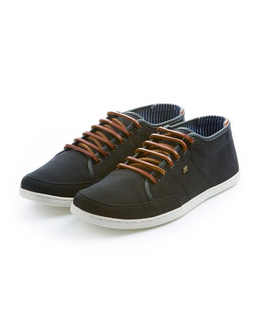 Boxfresh Sparko Ballistic Nylon Sneaker (black)
