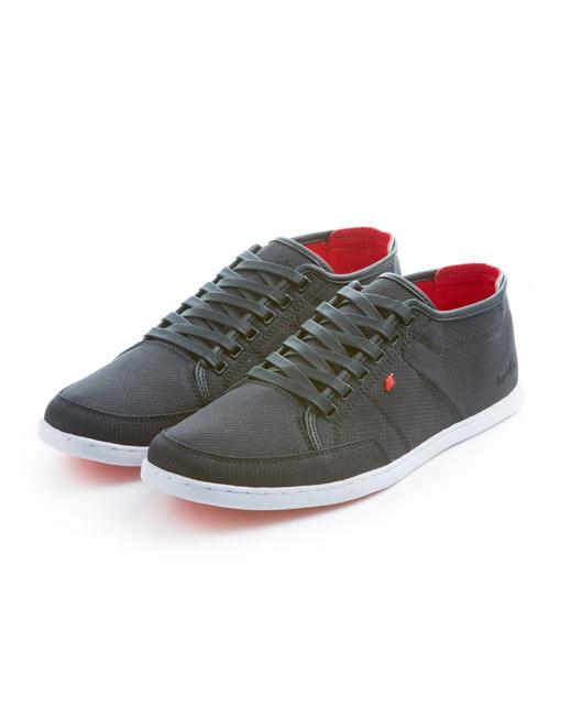 Boxfresh Sparko Ripstop Nylon Sneaker (black)