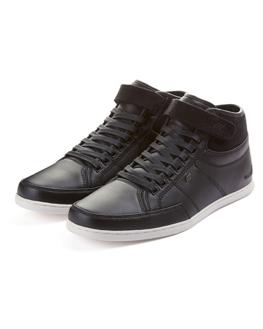 Boxfresh Swich Leather Hi-Top (black)
