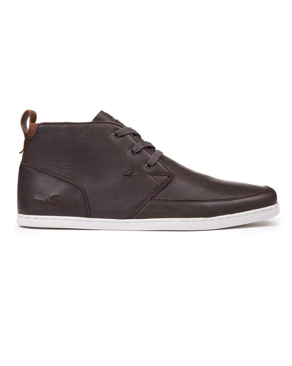 Boxfresh Symmons Leather (dark brown)