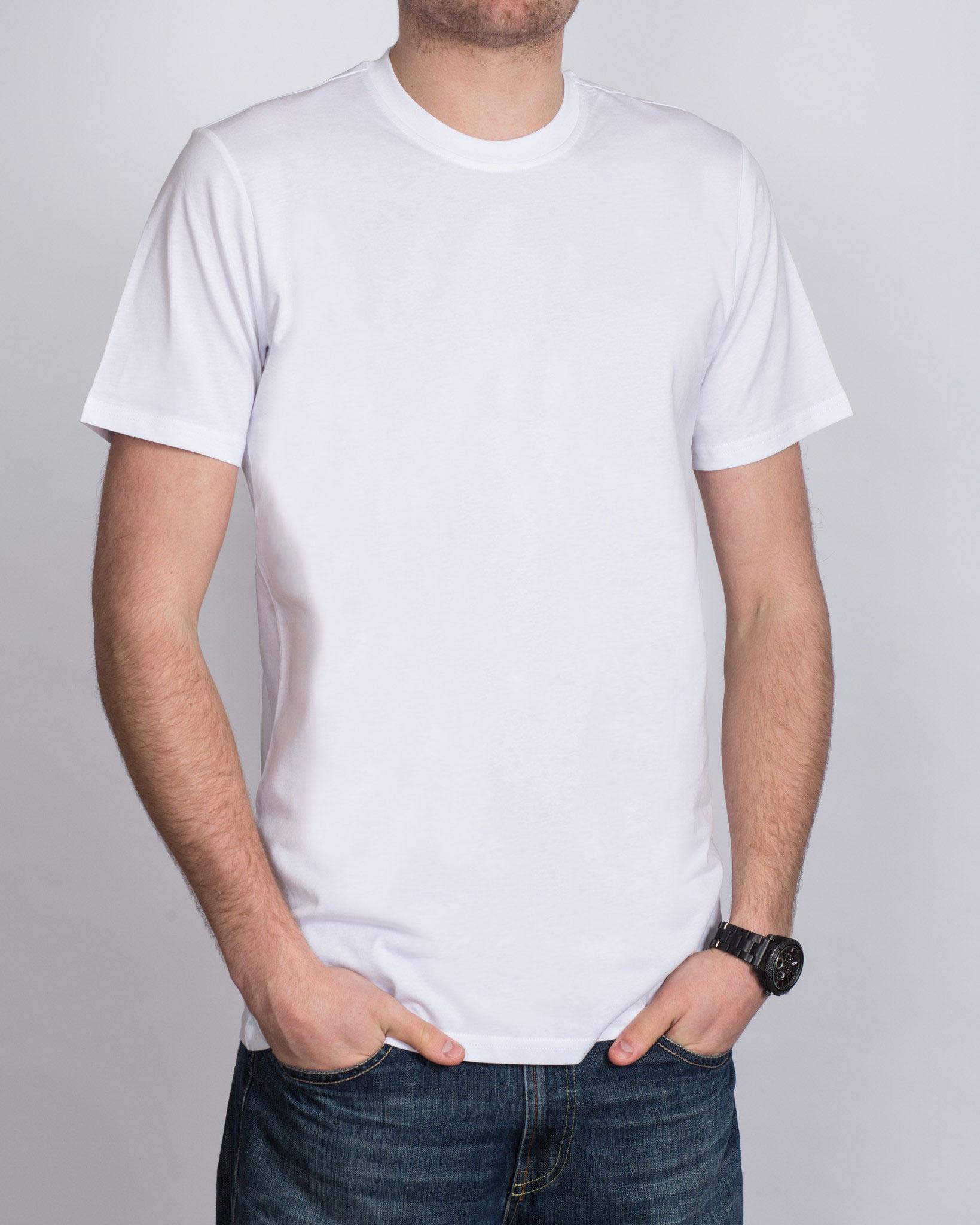 Girav Tall T-Shirt (white) Twin Pack
