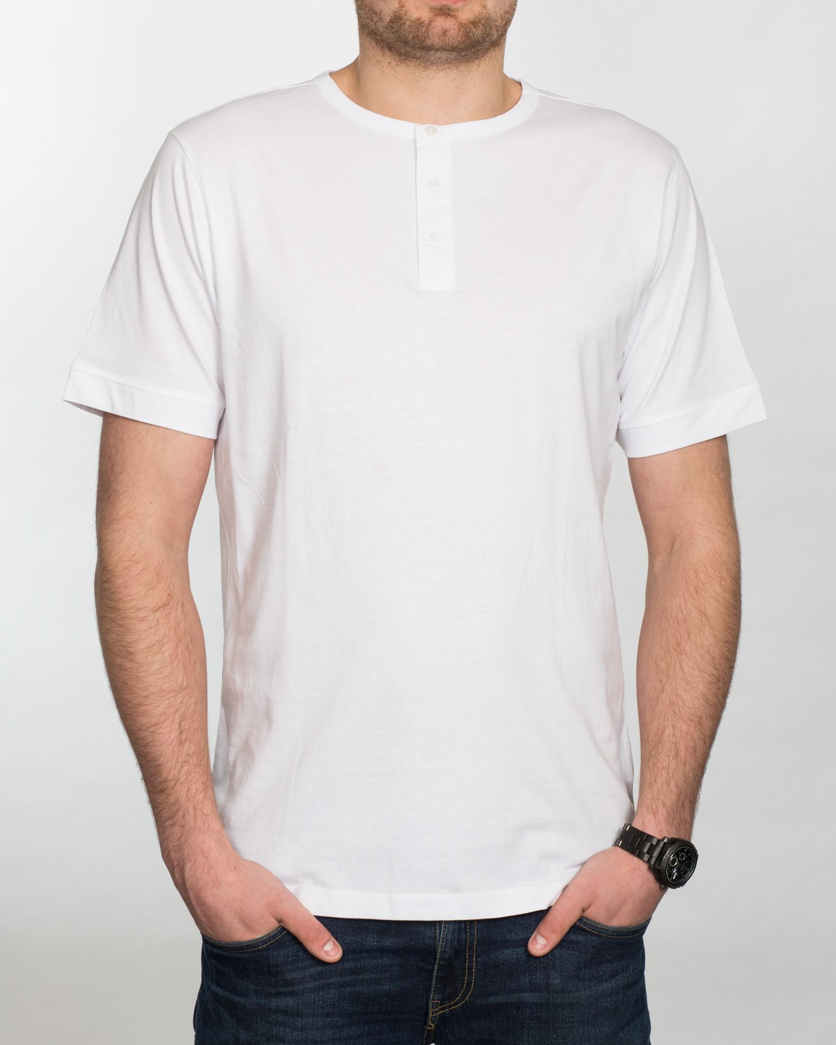 Replica Grandad Shirt (white)