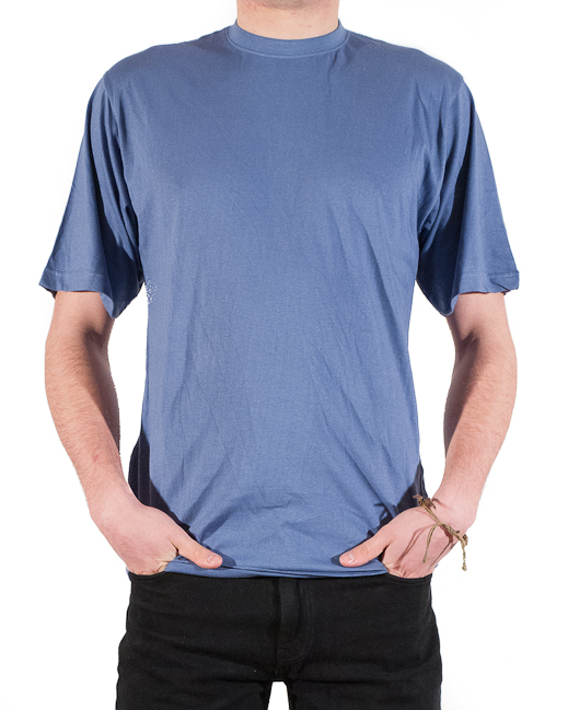 2T Extra Tall T-Shirt (mid blue)