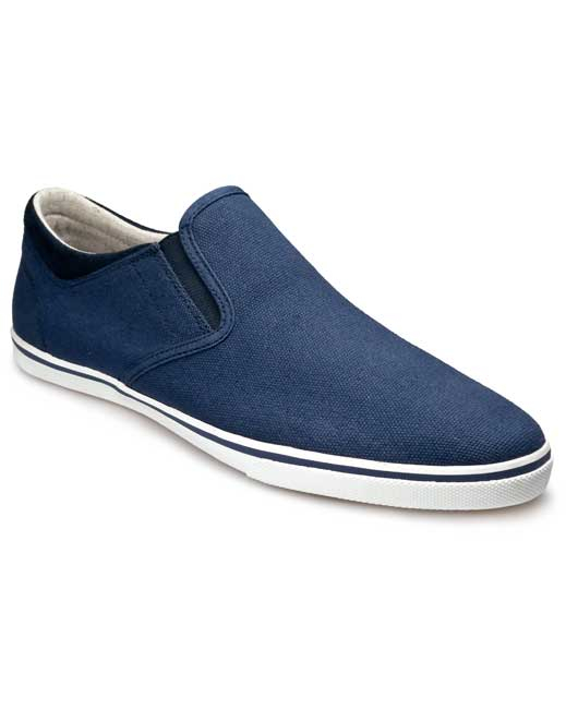 Pod Jetty Canvas Shoe (navy)
