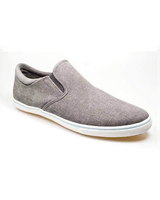 Pod Jetty Canvas Shoe (charcoal)