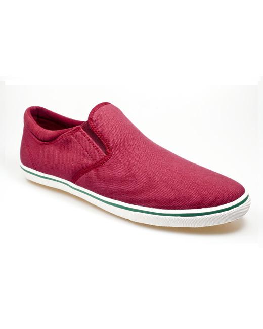 Pod Jetty Canvas Shoe (burgundy)
