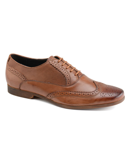 Front Lagoon Leather Brogue (brown)